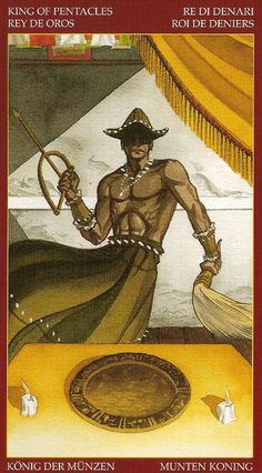Nombre (Deck) :Afro-Brazilian Tarot .- País (Country): Italia (Italy) .- Publisher : Lo Scarabeo .- Fecha (Date) : ???. 2006, Designer,: Alice Santana, Artist: Giuceppe Palumbo, Description: Based on the Yoruba traditions is dedicated to the divinities of the African Yoruban and Brazilian Candomble religions, and combines these and Santeria with the archetypes of tarot.