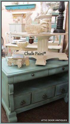 Provence with Dark Wax; Chalk Paint®