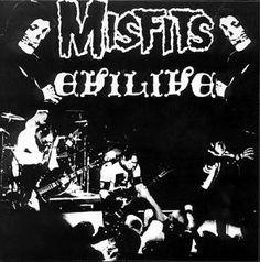 The Misfits ~ Evillive (original cover art)