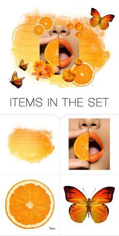 """Agent Orange"" by kb-2000 ❤ liked on Polyvore featuring art, orange, artset, agent, artexpression and agentorange"