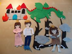 One of her favorite bedtime stories! Flannel Board Stories, Felt Board Stories, Felt Stories, Flannel Boards, Felt Books, Quiet Books, Felt Crafts, Diy Crafts, Felt Kids