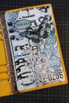 Scrapbook Page Layouts, Scrapbook Albums, Scrapbooking, The Journey, Glue Book, Elizabeth Craft Designs, Bullet Journal Art, Planner Book, Handmade Journals