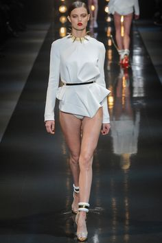 Alexandre Vauthier, Spring 2014, Couture, Panache, Bra, Swimwear, University, Project, Style, Development, Enhancement, Inspiration, Collection, Print, Pattern, Shape, Silhouette
