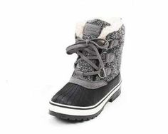 Such cute little snow boots