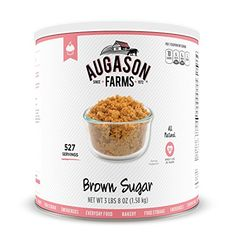 Augason Farms Brown Sugar 10 Can 56 oz -- Click image to review more details.(This is an Amazon affiliate link)