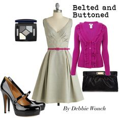 Belted and Buttoned