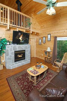As Good As It Gets is a one bedroom, two bath log cabin conveniently located close to Pigeon Forge.  Come and enjoy the spectacular view, the glass and beam wall surrounds you with the splendor of nature from sunrise to sunset. The rich, warm wood and luxurious amenities of this cabin set the perfect tone. - See more at: http://www.yourcabin.com/109AsGoodAsItGets.aspx#sthash.N2mB6zHD.dpuf