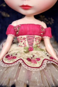 Blythe ballerina costume