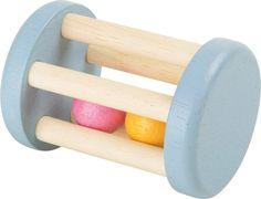 SONAJERO RODARI DE BOLITAS DE MADERA ¡Este juguete para bebé fascina a los más pequeños! En colores pastel y fácil de agarrar, dispone de pequeñas bolas que hacen un divertido sonido al moverse de un lado a otro #rodari #juguetemaderabebe #sonajerodemadera  http://www.babycaprichos.com/sonajero-rodari-de-bolitas-de-madera.html