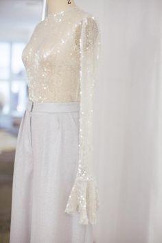 Houghton Bridal Spring 2017 / Wedding Style Inspiration / LANE