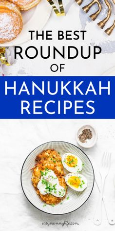 Festive Yet Easy Hanukkah Recipes For Your Hanukkah Party. Easy Hanukkah Recipes For Your Next Hanukkah Party. These Jewish food recipes will wow your guests. Easy Hanukkah Recipes, Hanukkah Food, Jewish Recipes, Holiday Recipes, Hanukkah Diy, Hanukkah Decorations, Hannukah, Lunch Recipes, Easy Dinner Recipes