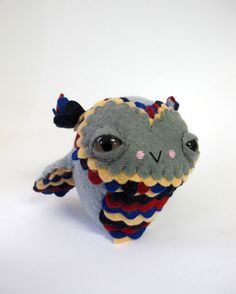 Cat Rabbit - Feathered Doll