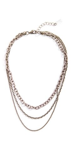 Bring a little edge to your everyday with layers and layers of silver chain! Our Grayling Osprey necklace is the epitome of everyday elegance!