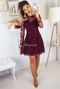 Wyprzedaz sukienek na wesele Tanie sukienki wieczorowe - Illuminate Dresses With Sleeves, Long Sleeve, Fashion, Outfits, Moda, Sleeve Dresses, Long Dress Patterns, Fashion Styles, Gowns With Sleeves