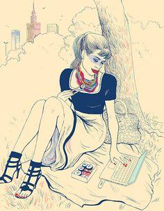 Endo, polish illustrator