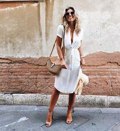 "Natasha Oakley on Instagram: ""Lady in White  wearing @Revolve today in Venice #REVOLVEaroundtheworld"""