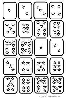 Classe maternelle : Jeu de cartes pour maternelle et cp
