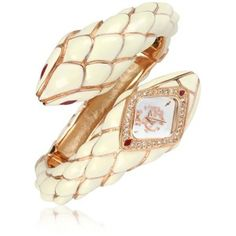 Roberto Cavalli Snake Star - Logo Bracelet Watch