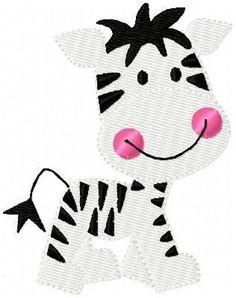 Zebra Baby Machine Embroidery Design by JoyfulStitchesEtsy on Etsy, $3.50