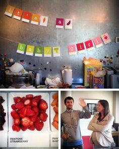 Palo Alto Buzz: Pantone Themed Baby Shower « Michael Patrick Partners Blog