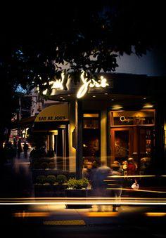 Original Joe's in the Italian area of San Fran...I am taking my guy here.