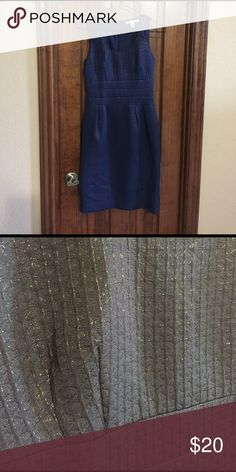 Navy blue dress Form fitting business dress. Great for work meeting/ wedding guest. Banana Republic Dresses Midi