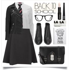 A fashion look from August 2015 featuring HUGO blouses, ONLY jackets and ONLY mini skirts. Browse and shop related looks.