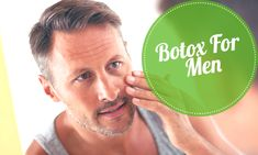 #Botox isn't just for women, and Botox isn't just a great treatment for fine lines and facial wrinkles. Here are 5 great reasons why men should consider Botox.