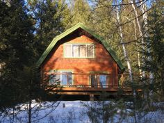 Cabin vacation rental in Whitefish from VRBO.com! #vacation #rental #travel #vrbo