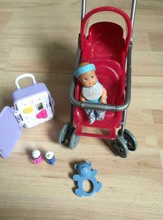 Barbie baby mit buggy