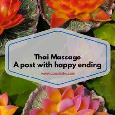 Have you ever heard about Thai Massage? Discover what is a Thai massage and why you need to do one now...
