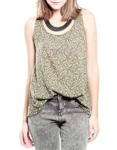 Bluson tirantes lagrima espaldaalda : ROPA Blusas & Camisas