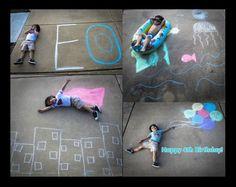 Chalk Photo ideas.... Photographed by: Daniela Molina