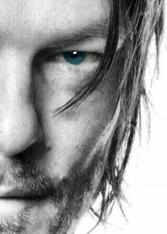 Norman Reedus with those blues