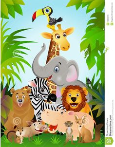 Animal Cartoon - Download From Over 61 Million High Quality Stock Photos, Images, Vectors. Sign up for FREE today. Image: 18856379