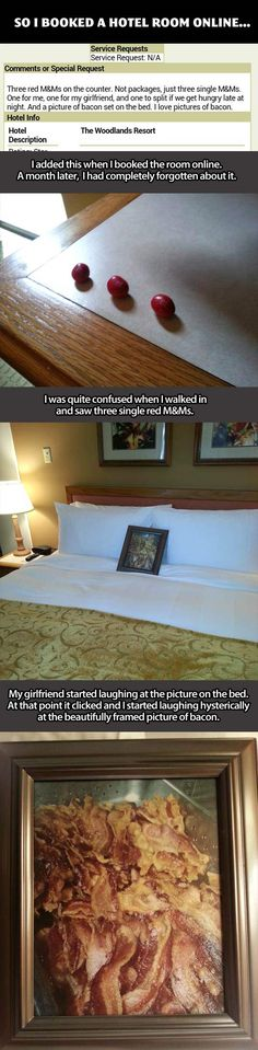 Awesome hotel: That is customer service at its finest…  I am SOOOOO doing this next time!