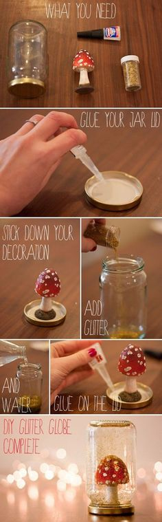 Beautiful & Sparkly Things You Can Make With Glitter