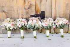 rustic vintage bouquets