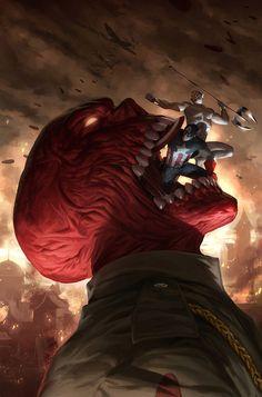 Marvel comics art. Pretty powerful image!