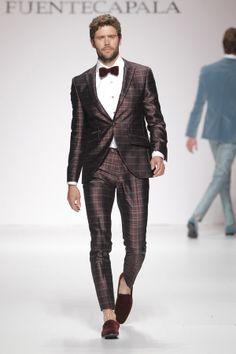 Trajes con pajarita #boda #novio #traje
