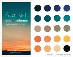 Orange Color Schemes, Orange Color Palettes, Color Schemes Colour Palettes, Paint Color Schemes, Colour Pallette, Color Palate, Website Color Schemes, Beach Color Palettes, Sunset Color Palette
