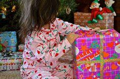 Vintage Christmas wrap. Christmas wrapping. Christmas paper. Presents.