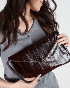 envelope bag by Clutch Bags NY