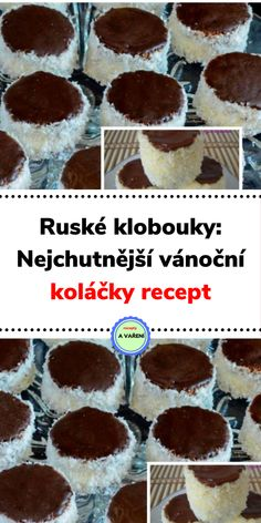 Ruské klobouky: Nejchutnější vánoční koláčky recept