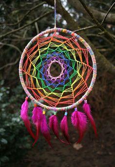 filtro de sonhos arco iris