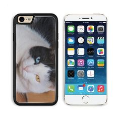 """MSD Premium Apple iPhone 6 iPhone 6S Aluminum Backplate Bumper Snap Case IMAGE ID: 5155257 Close up of cat s face focus on the two colored eyes. This item is designed and made for """"Apple iPhone 6 iPhone 6S"""" Only. Aluminum back plate along with a durable plastic hard shell, completely protect the phone from dirt, scratch and bumps. Easy access to all buttons, controls and ports without removing the case. Easy to install - just snap on to your device. MADE IN USA. Designed, printed and…"""