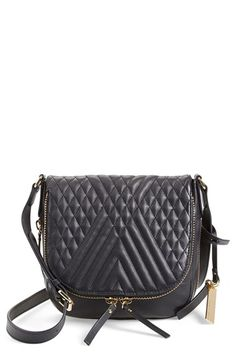 quilted black bag - always a classic