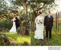 Using a shawl is such a good idea for a winter wedding! #winterwedding #ParadiseRidgeWinery #Drozian #Photoworks