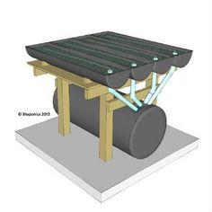 Biogarden 4-4 DIY Aquaponics System