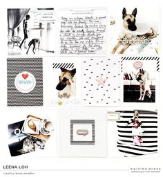 Hi everyone! Kelly here bringing you a fresh dose of creative team inspiration! First up we have some projects using the Mantras photo templates and journaling cards.    Next up a...